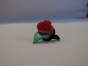 Jack's Red Rose Pendant